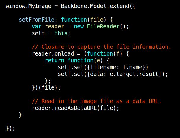 Backbone render view